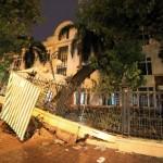 Viện Kiểm nghiệm thuốc TƯ chịu thiệt hại trong cơn giông bão bất ngờ