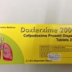 Đình chỉ lưu hành thuốc Doxferxime 200mg